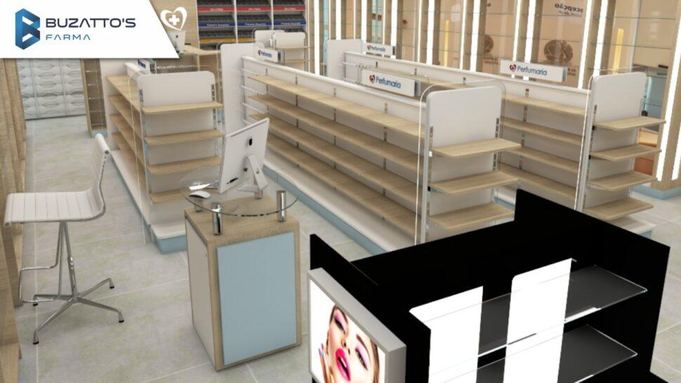 2021: tendências em mobiliário para drogarias