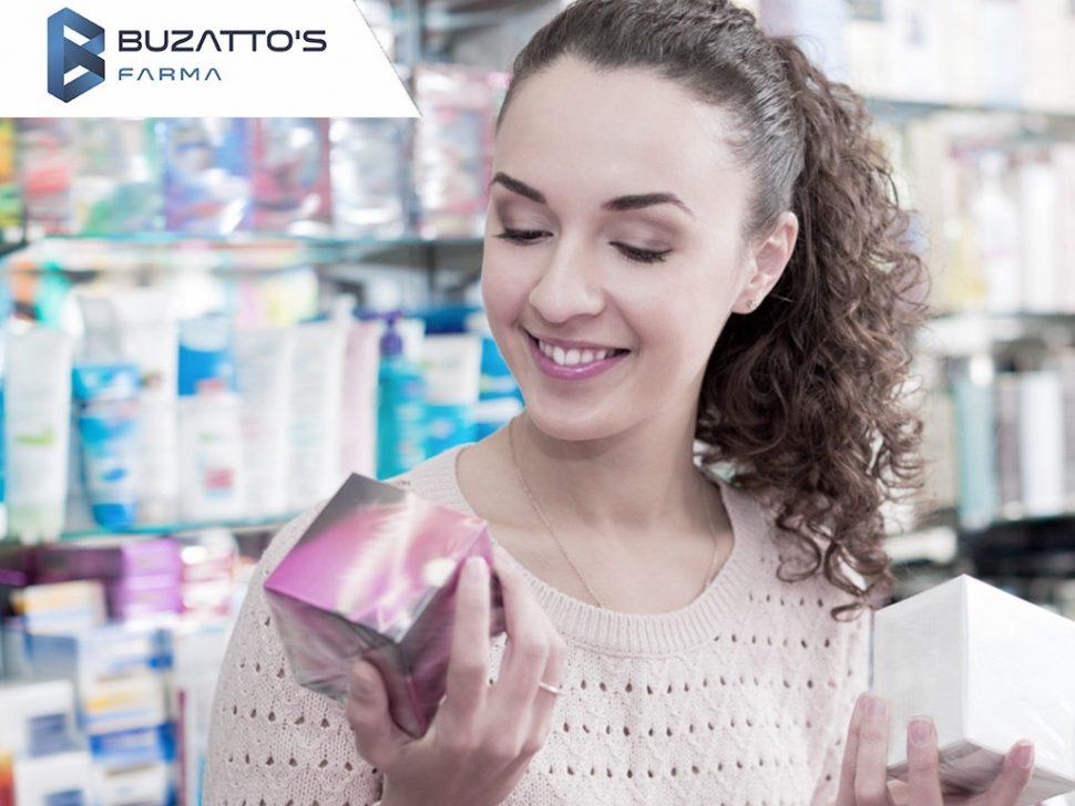 Jornada de compra na farmacia