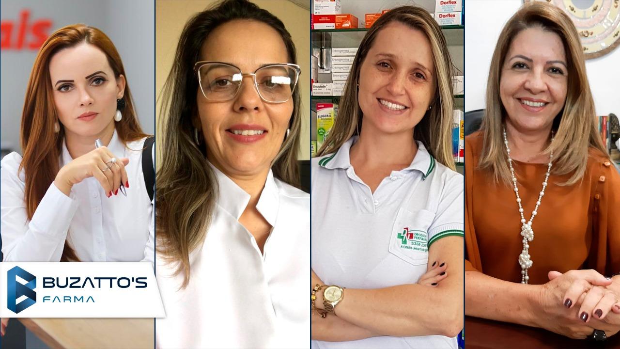 Mulheres no Canal Farma 4 empreendedoras 4 pontos de vista